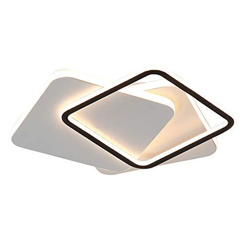 Ceiling lamp Lampe combinée carrée Simple Moderne LED étude Lampe Bureau plafonnier Chambre Ronde Chambre Lampe élégante et Belle éclairage Domestique