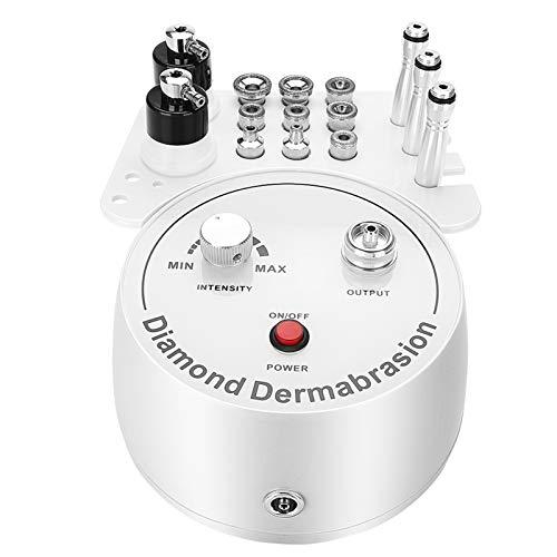 Máquina de Microdermoabrasión - Máquina de Dermoabrasión de Microdermoabrasión de Diamante 3 En 1 Instrumento de Belleza Facial para Uso Personal en el Hogar(EU)