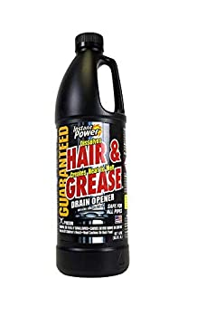 Instant Power 1969 Hair and Grease Drain Opener 1 l Liquid 2 Pack