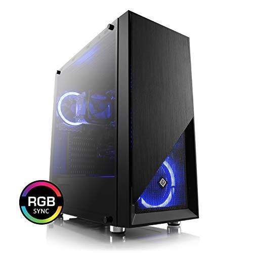 CSL Computer Aufrüst-PC 913 - AMD Ryzen 5 3600X - AMD Ryzen 5 3600X 6X 3800 MHz, 8 GB DDR4, GigLAN, 7.1 Sound, USB 3.1, ohne Betriebssystem