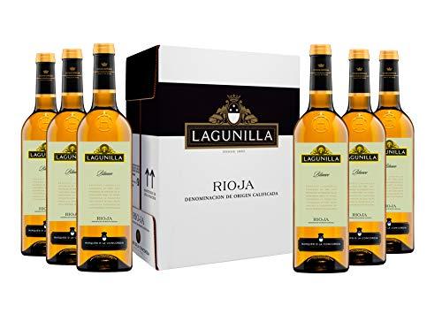 Caja de Lagunilla Blanco D.O. Rioja Vino blanco - 6 botellas x 750 ml. - 4500 ml
