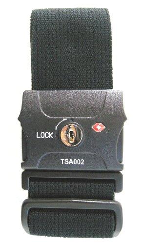 JTB商事 TSAロック付 スーツケースベルト ブラック 509009004
