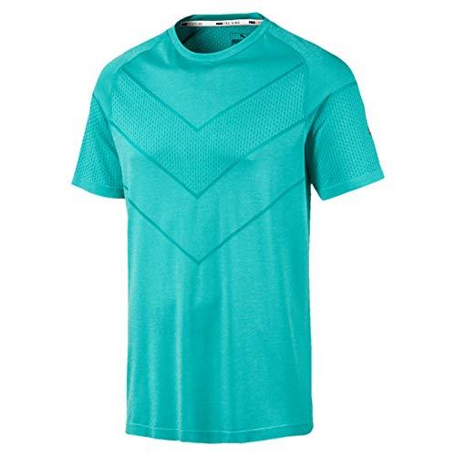 PUMA Herren Reactive Evoknit Tee Shirts, Mint, S