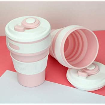 Eco friendly Collapsible Silicone Coffee Cup Multifunction Silicone Travel Water Cup Coffee Cup Folding Cup Telescopic Collapsible Drinking Cup