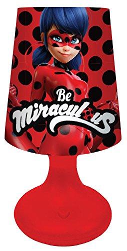 Joy Toy 65971 Figuren & Charactere Ladybug LED Mini Lampenschirm 7x18 cm - Batterie betrieben - in Geschenkverpackung