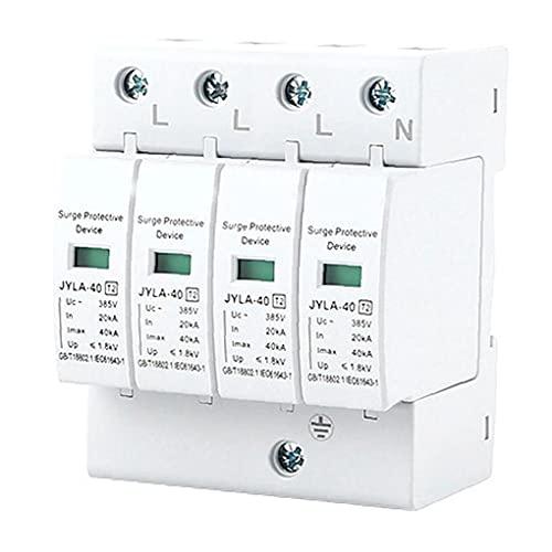 Sraeriot Dispositivo Protector Contra Sobretensiones Spd-4p 40kva Dc Protector De Reluido Photovoltaico De Bajo Voltaje, Distribución De Entrada Y Equipo De Control, Relantos