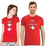 Wild Thunder Couple Tshirts My Heart Beat, My Life Line Printed Matching Tees