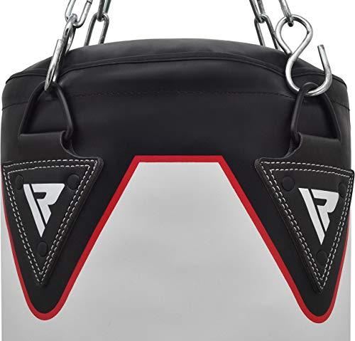 RDX Lot de 14 sacs de frappe pour entraînement de boxe, sac lourd rempli avec gants de frappe,...