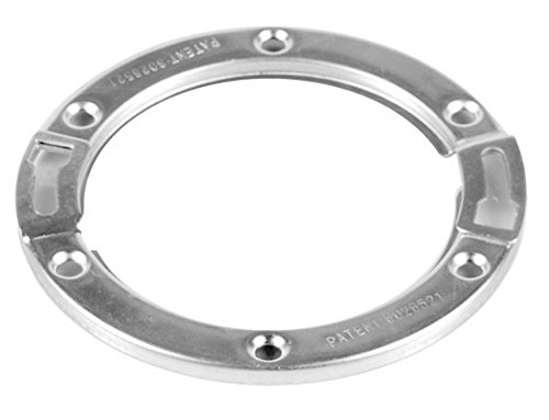 Oatey 42777 Moss Bay PVC or ABS Closet Replacement Flange, Gray