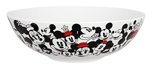Disney All Over Mickey and Minnie Serving Bowl