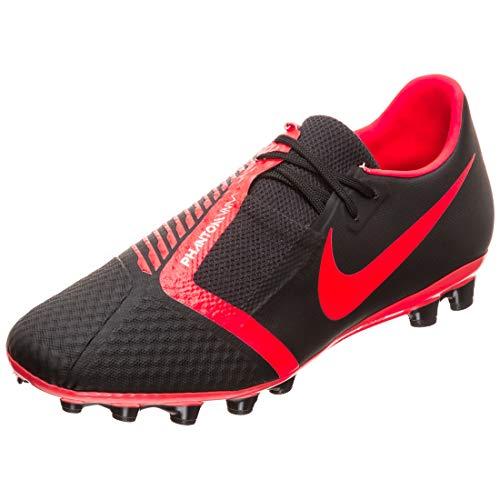 Nike Phantom Venom Academy AG-R, Botas de fútbol Unisex Adulto, Multicolor (Black/Bright Crimson/Black 60), 40.5 EU