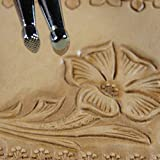 Steel Craft Japan - Small Pear Shader Stamp Set (2 Leather Stamping Tools)