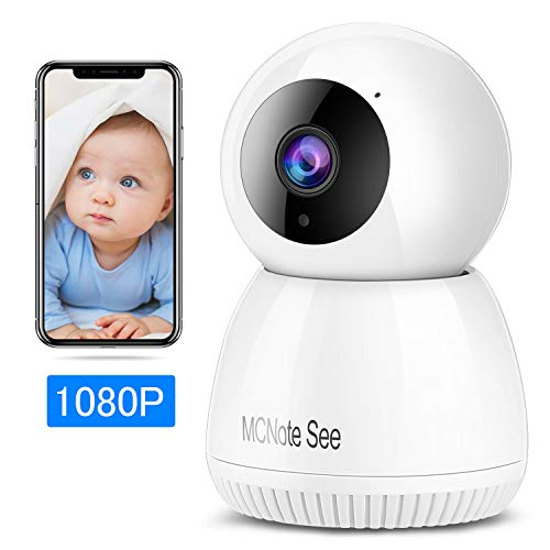 Security Camera,2k Video quqlity,300MP,Night Vision,Motion Detection,Baby Monitor,Wireless Home Surveillance Camera,Cloud Service/Vision Motion Detect for Home/Shop/Office (White)