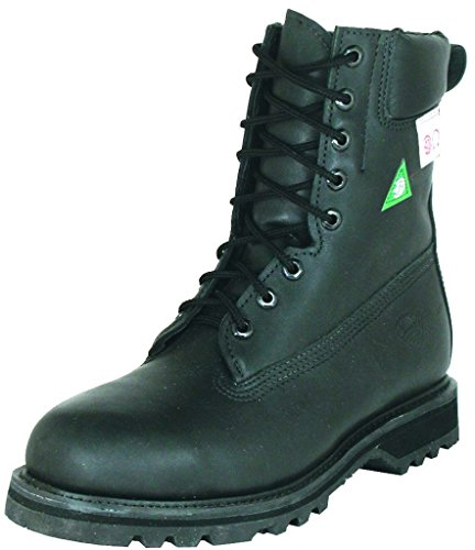 Amerikanische Schuhe - Arbeitsschuhe BO-4048-EE (Fett Fuß) - Mann - Leder - schwarz - 13