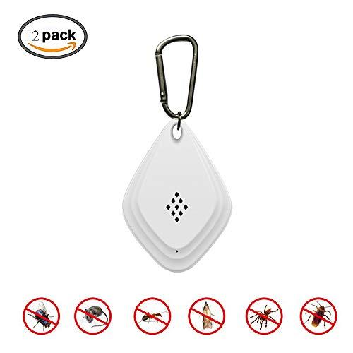 Ultrasone ongediertebestrijder, draagbare elektrische Insect Repeller, 6 in 1 frequentieomzetting Plug In, met USB opladen en Mute Safe Device afweermiddelen