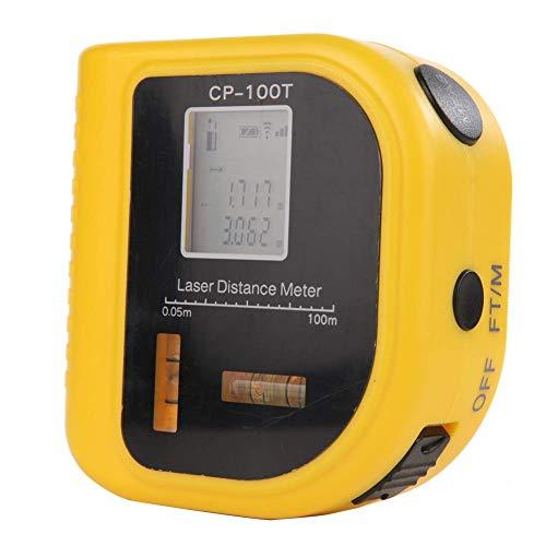 Cacoffay LCD-Display Entfernungsmesser, Digitales Infrarot-Entfernungsmesser-Messwerkzeug