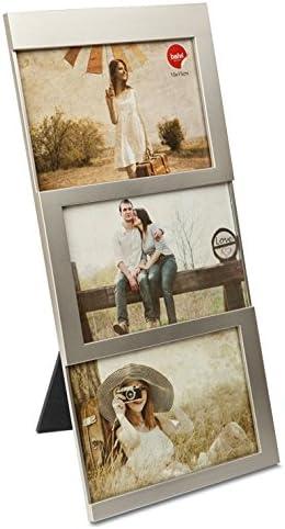 592 opinioni per Balvi Portafoto Dijon Colore Argento capacità: 3 Foto da 10x15 cm Portafoto da