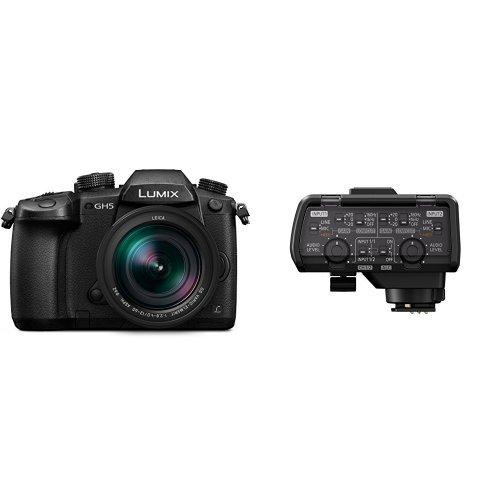Cheapest Prices! Panasonic LUMIX GH5 4K Mirrorless Camera with Lecia Vario-Elmarit + Professional Mi...