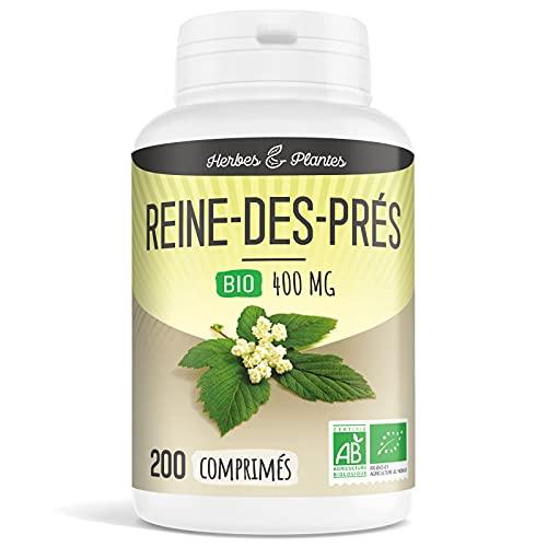 Herbes Et Plantes Reine des Prés Bio 200 Comprimés 400 mg
