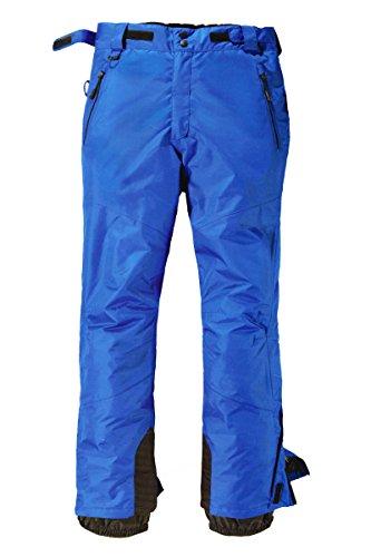 Crivit Sports® Herren Skihose Winterhose Schneehose Winddicht Wasserdicht NEU (50, Blau)