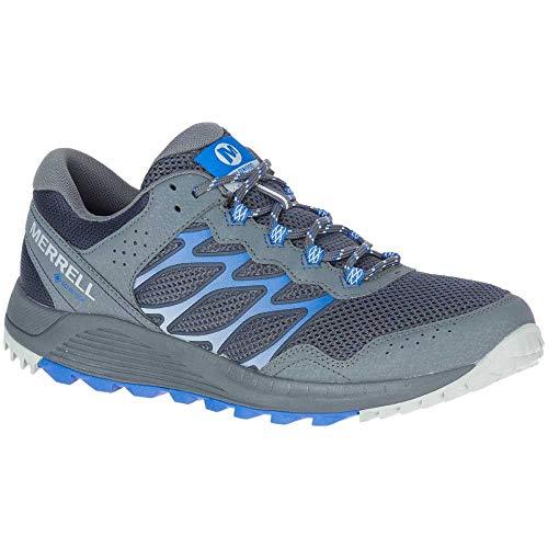 Merrell Wildwood GTX, Zapatillas para Caminar Hombre, Gris (Cobalt), 44.5 EU