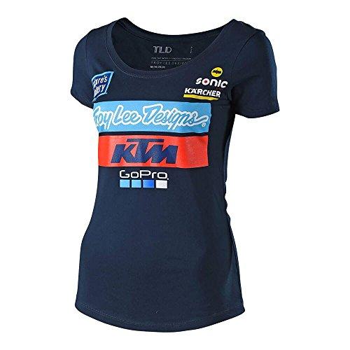 Camiseta Troy Lee Designs 2018 para mujer KTM Team T-Shirt-XL