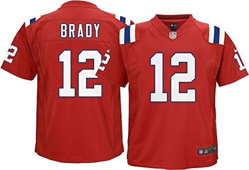 Nike NFL Game ALT Jersey Brady Tom Patriots Boys Size BM102