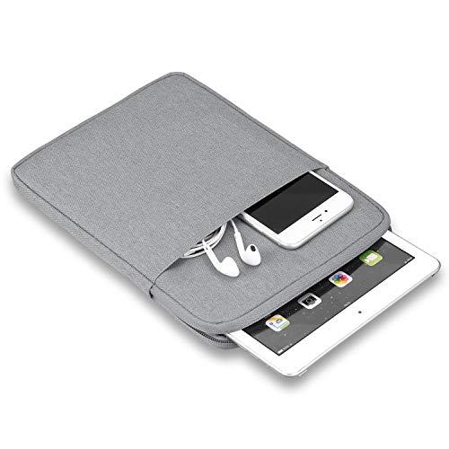 7-8 Pulgadas Bolsa de Manga para Tableta - Compatible con iPad Mini (5th generación) 7.9'' 2019, iPad Mini 1/2/3/4, Galaxy Tab S2 8.0, Tab A 8.0 Estuche de Transporte (Gray)