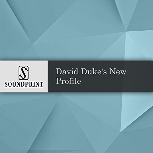 David Duke's New Profile audiobook cover art