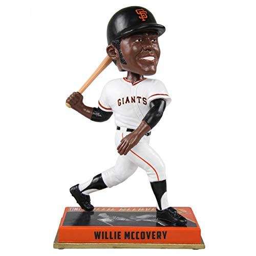 FOCO Willie McCovey San Francisco Giants Willie McCovey Legend Series - Mispelled Bobblehead MLB