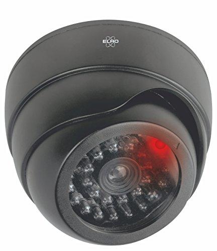ELRO CDD17F Indoor Dummy Dome Kamera - Innen Dummy Kamera - Drehbar - mit LED - Schwarz