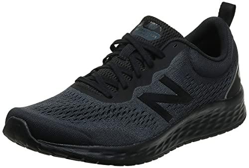 New Balance Men's Fresh Foam Arishi V3 Running Shoe, Black/Lead/Dark Silver Metallic, 10.5