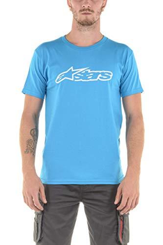 Alpinestars Blaze T-Shirt Blau/Grau M