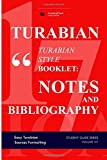 TURABIAN STYLE BOOKLET: NOTES AND BIBLIOGRAPHY: Easy Turabian Sources Formatting (STUDENT GUIDE SERIES)