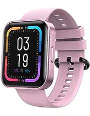 KOSPET Smartwatch 1,71 inch touchscreen, fitnesshorloge met hartslagmeter, fitnesstracker met echte zuurstoftest, slaapmonitor, IP68 waterdicht, sporthorloge, smart watch, stopwatch voor dames en heren