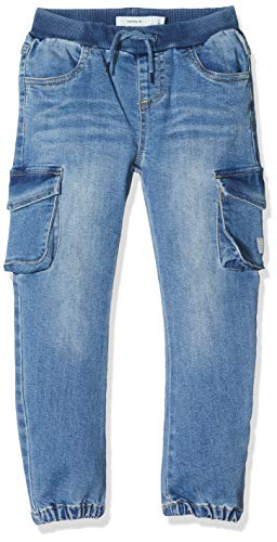 NAME IT Jungen NMMBOB DNMTANNI 1313 Pant NOOS Jeans, Blau (Light Blue Denim Light Blue Denim), (Herstellergröße: 92)