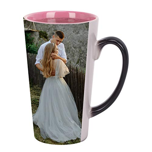 Magic Custom Mugs Personalized Coffee Mug Add Your Text Photo Picture Ceramic Coffee Cup Women Men Funny Travel Mugs Tazas Personalizadas Customized Gift for Christmas Valentine's Mother's Day