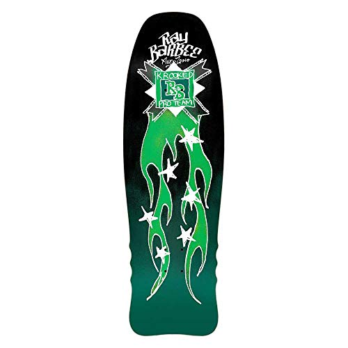 Krooked Tavola da Skate Old School Deck Ray Barbee Flames 10''