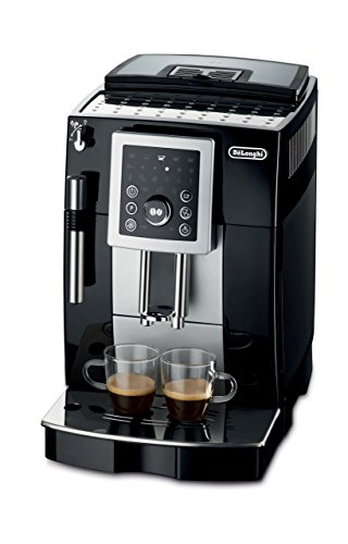 DeLonghi ECAM23210 Compact Magnifica S Super-Automatic Espresso Machine Beverage Center (Black) (Renewed)