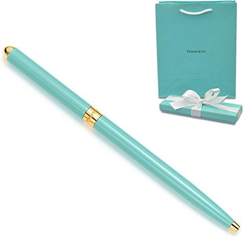 TIFFANY ティファニー 正規品 ボールペン 10494397 ブルー ラッカー パース ペン [ショップバッグ付き ラッピング済み]