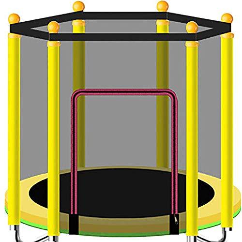 Yuany Kinderen Trampoline, Indoor Trampoline Met Beschermend Net, Dikke Oxford Doek, Pe Beschermend Net, Voedsel Grade Schuim Tube, Kleur