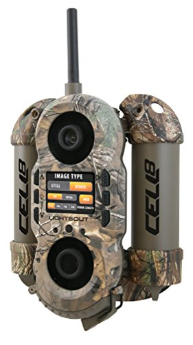Wildgame Innovations Crush Cell 8 Lightsout Digital Trail Camera, Realtree Xtra