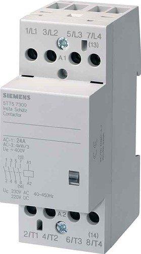 Siemens - Telerruptor 5tt5 4nc 24v corriente alterna/corriente continua 2 módulos