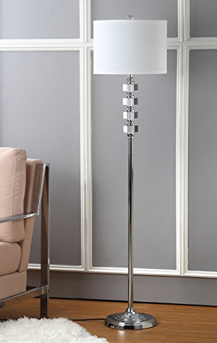 Safavieh Lighting Collection Lombard Street Clear 60.25 inch Floor Lamp