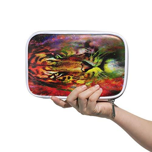 Magical Space Tiger - Estuche escolar para lápices, diseño de tigre