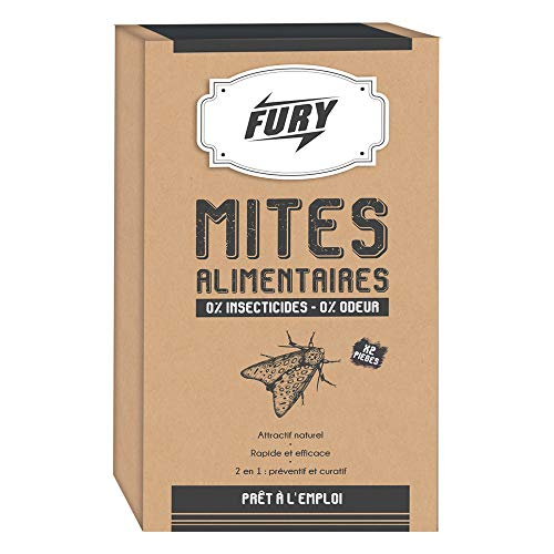 'FURY Insecticide Piège Mite Alimentaire' (2 pièges inclus)