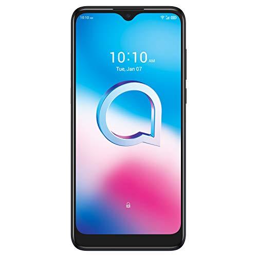 "Alcatel 3L 2020 - Smartphone de 6.22"" (octacore, 4GB RAM, 64GB ROM, ampliable microSD, 3x cámaras 48MP +5MP+2MP + frontal 8MP, batería de 4000mAh) color azul [Versión ES/PT]"