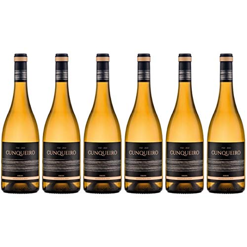 Cunqueiro Vino Blanco - 6 Botellas - 4500 ml