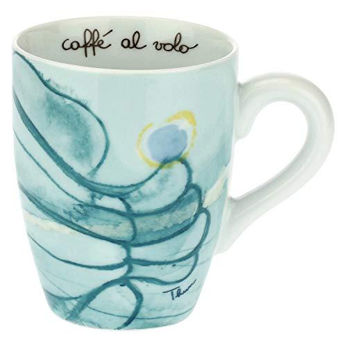 Thun - Meer Tasse für Tee ̈, Kaffee ̈, Tee - Porzellan - 300 ml - 8,5 cm