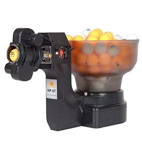 ALOOVOO Robot de Ping Pong/Tenis de Mesa, máquina automática de Tenis de Mesa, Sirve 36 Bolas Diferentes para Ejercicios de Entrenamiento
